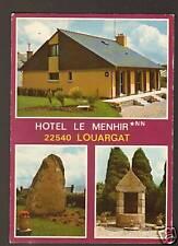 "LOUARGAT (22) HOTEL ""LE MEHIR"" Rue de la GARE"
