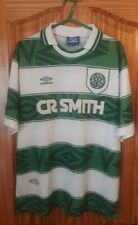 GLASGOW CELTIC 1993 - 1995 HOME SHIRT UMBRO - SIZE XL - EXCELLENT CONDITION!