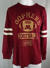 Minnesota Golden Gophers NCAA Fanatics '1882' Football Men's Long Sleeve Shirt