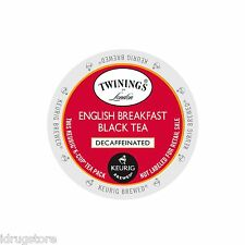 Twinings of London English Breakfast Decaf Tea Keurig K-Cups 96-Count