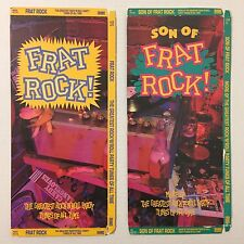 Lot Of 2 Vintage 1980s Frat Rock Son Of Empty Cd Longboxes Only No Discs Rhino