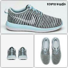 Nike roshe two flyknit glacier blue UK 3 EUR 36 (844929 402)