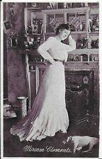 RARE MOVIE STAR,VINTAGE POSTCARD,ACTRESS,MIRIAM CLEMENTS,1903