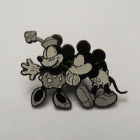 Disney DLR Black & White Mickey and Minnie Pin