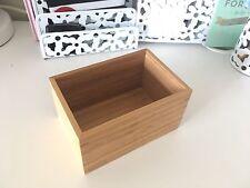 Ikea Bamboo Drawer Cosmetic Organizer Make Up cosmetics Jewellery Box Lipstick