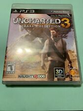 Uncharted 3 Drakes Deception - Used - PS3 - FREE S/H-(B76A)