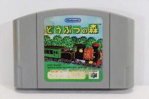 Animal Crossing / Doubutsu no Mori Nintendo N64 Japan Import US Seller E1790 C