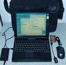"12,1"" portátil Notebook Dell Latitude LM p133st p1 1,4gb 40mb Windows 98 se rs232"