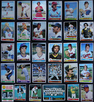 1979 Topps Baseball Cards Complete Your Set You U Pick From List 251-500