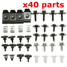 40xCar Engine Undertray Cover Clip Bottom Shield Guard Screws For TOYOTA/AVENSIS