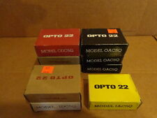 (9) NEW OPTO 22 I/O RELAY MODULES OAC5Q, ODC5Q, IDC5Q, IAC5Q