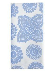 NEW NEW Dandi Napkins set of 4 - Doilie Blue Cotton Fabric Table Napkins