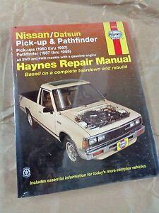 DATSUN stanza 82-86 Haynes Manuale di servizio NISSAN