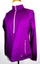 New Women's Annika Cutter & Buck Plum/Pink LS Wind-Waterproof Windshirt M INT
