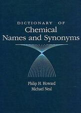 Dictionary of Chemical Names and Synonyms-ExLibrary