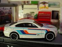 2018 CAR MEET Design BMW M3☆white;red/blue;pr5☆LOOSE Hot Wheels