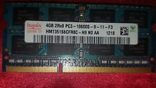 Samsung/Hynix DDR3 4gb 2Rx8 PC3-10600S laptop RAM Tested Working