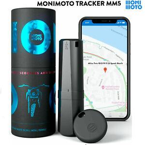 Monimoto MM5 Smart Motorcycle Alarm GPS Tracker Motorbike Theft Alert System