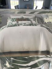 Full/queen Comforter Set Lorelai Reversible Palm-Print