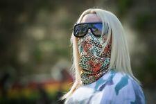 New Woman Scarf Face Mask Neck Gaiter Skulls camo