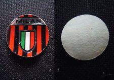 ***FIGURINA CALCIO TONDA (BUSTE SORPRESA) DEL 1967*** SCUDETTO MILAN