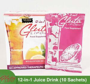 Gluta Lipo 12in1 Juice Drink (10 sachets)