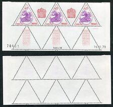3 Timbres Taxes MONACO neufs TB** YT n° 65 - Sceau Princier - Coin Daté 15/11/79