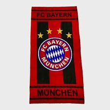 Strandtuch FC Bayern München 75x150cm 100% Baumwolle Badetuch Handtuch