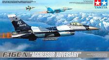 "Tamiya 61106 1/48 F-16C/N ""Aggressor/Adversary"" Rare from Japan"