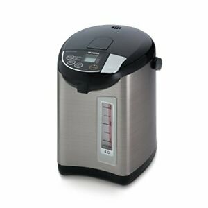 Tiger PDU-A40U-K Electric Water Boiler and Warmer Stainless Black 4.0-Liter