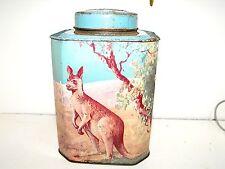 Vintage Embossed Bushells Tea 1lb Tin In Good Vintage Condition