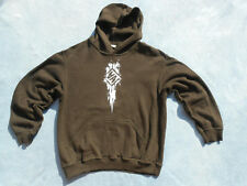AMNISTIA BLACKGUARD Kapuzenpullover Sweatshirt Größe M Front 242 EBM FLA Electro
