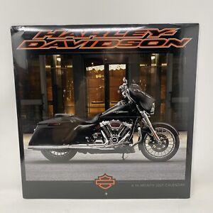 Harley-Davidson 2021 16-Month Wall Calendar / New & Sealed   Motorcycle Bikes