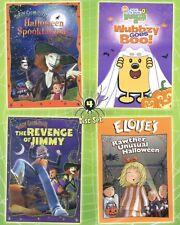 Halloween Fun Pack, new 4-disc DVD set, Scary Grandmother, Wubbzy, Eloise, 4 hrs