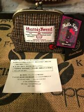 Limited Product Sanrio Hello Kitty × Harris Tweed Mini Purse Pouch Coin
