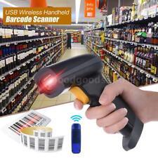 2.4G Wireless USB Barcode Scanner Scan POS Gun Label Lettore Alta velocità D1F9