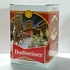 2020 Budweiser Limited Edition Holiday Stein Clydesdale 41st Anniversary