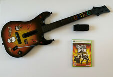 Guitar Hero Red Octane Wireless Guitar - World Tour - Xbox 360 - Fully Tested