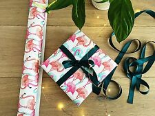 Flamingo Wrapping Paper | Flamingo Gift Wrap | Craft Paper | Scrapbooking Paper