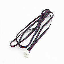 2M Extension Cable 2-End Clip Quick Connector For 5050 3528 RGB LED Strip Light