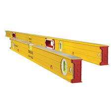 "Box Frame Type 96M Series Magnetic Jamber Set 78"" + 32"" Levels Stabila 38532 New"