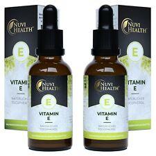 Vitamin E - 100 IE - 1000 Tropfen = 100ML / natürliches D-alpha-Tocopherol Vegan