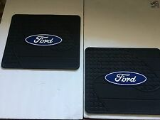 Rear Utility Rubber Floor Mats - Ford