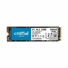 Crucial P1 500GB 3D NAND NVMe PCIe M.2 Solid State Drive SSD CT500P1SSD8 - New