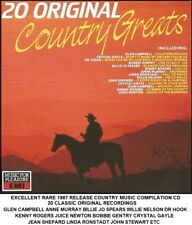 Best Greatest 20 Country Music Hits CD Kenny Rogers Anne Murray Billie Jo Spears