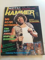 Metal Hammer 6/86 Fanzine Magazine Zeitschrift Heavy Metal Rock Hard Crash...