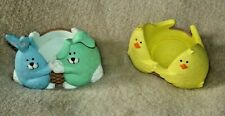 Bunnies and Chicks Egg Cups