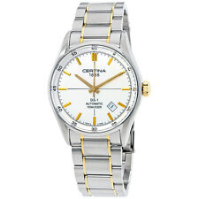 Certina DS 1 Automatic Silver Dial Ladies Watch C0064072203100
