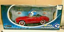 VW  KARMAN GHIA 1:18 MIRA by SOLIDO  DOORS ENGINE LID OPEN RED        3161