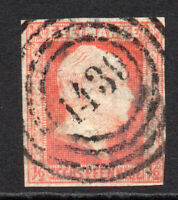 Prussia (Germany) 6 Pfennig Stamp c1850-56 Used (3797)